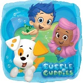 "18"" Bubble Guppies Mylar Balloon"