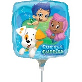 "9""  Airfill Only Bubble Guppies Balloon"