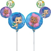 "14""  Airfill Only Bubble Guppies Balloon"