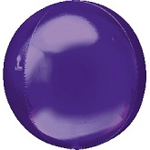 "16"" Purple Orbz Balloon"