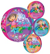 "16"" Dora the Explorer Orbz Balloons"