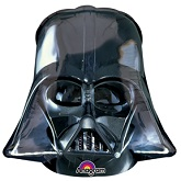 "25"" Darth Vader Helmet Black Balloon"
