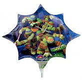 "14"" Airfill Only Teenage Mutant Ninja Turtles Shape"