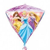 "17"" Disney Princess Diamondz Foil Balloon"