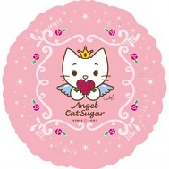 "18"" Angel Cat Sugar - Since 2002 Mylar Balloon"