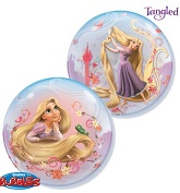 "22"" Tangled Licenced Character Bubble Balloons"