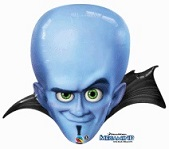 "37"" Megamind Mylar Balloon"