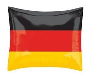 "21"" Germany Flag Balloon"