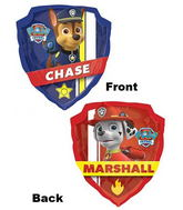 "25"" Paw Patrol Chase and Marshall"