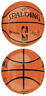 "16"" NBA Spalding Basketball Orbz"