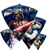"17"" Star Wars Characters Diamond shaped Balloons"