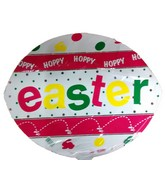 "18"" Hoppy Hoppy Easter Egg Balloon"