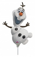 "13"" Airfill Only Olaf Frozen Mini Shape Balloon"