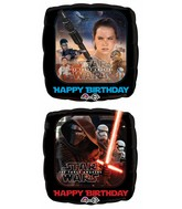 "18"" Star Wars Happy Birthday Packaged"