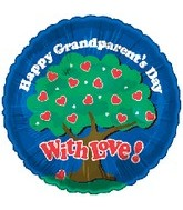 "18"" Happy Grandparents Day With Love"