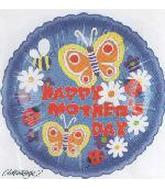 "9"" Happy Mother Day Butterflies M391"