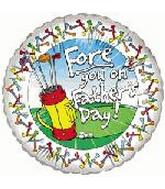 "18"" Fore You on Father&#39s Day"