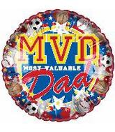 "9"" Most Valuable Dad"