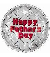 "18"" Happy Father&#39s Day Metal Balloons"