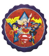 "28"" Jumbo DC Super Hero Girls Foil Balloon"