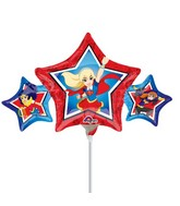 Airfill Only DC Super Hero Girls Foil Balloon