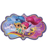 "27"" Shimmer and Shine Jumbo Balloon"