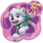"25"" Jumbo Paw Patrol Girls Foil Balloon"