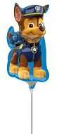 "11"" Airfill Only Paw Patrol - Chase Balloon"