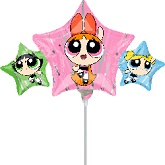 "9"" Airfill Only Powerpuff Girls Balloon"