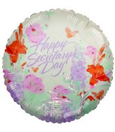 "4"" Secretary Day Balloons"