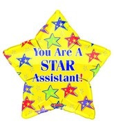 "9"" Star Assistant Balloon"