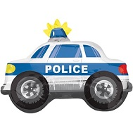 "26"" Police Car Jumbo Balloon"