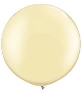 "30""  Qualatex Latex Balloons  Pearl IVORY 02CT"