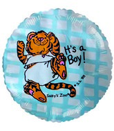 "2"" Airfill Suzy Zoo It&#39s a Boy Balloons"