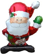 "36"" Waving Santa Balloon"