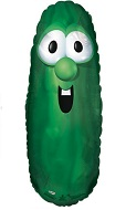 "30"" Veggie Tales Larry Shape Balloon"