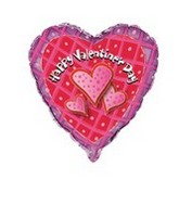 18&#39&#39 Valenitne&#39s Day  Purple Heart Border