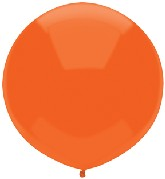 "17"" Outdoor Display Balloons (72 Count) Bright Orange"