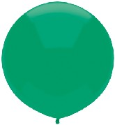 "17"" Outdoor Display Balloons (72 Count) Deep Jade"
