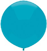 "17"" Outdoor Display Balloons (72 Count) Island Blue"