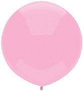"17"" Outdoor Display Balloons (72 Count) Real Pink"