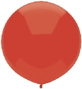 "17"" Outdoor Display Balloons (72 Count) Real red"