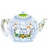 "25"" To Mom With Love Teapot"