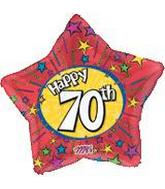 "20"" Happy 70th Star"