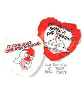 "18"" Just One Kiss Balloon"
