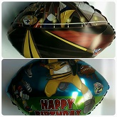 "18"" Happy Birthday NFL Rush Zone Steelers"