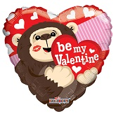 "9"" Be My Valentine Gorilla Balloon"