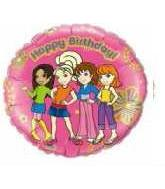 "18"" Polly Pocket Happy Birthday"