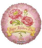 "9"" Airfill Happy Mother&#39s Day Roses Balloon"