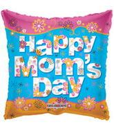 "36"" Happy Mom&#39s Day Square Balloon"